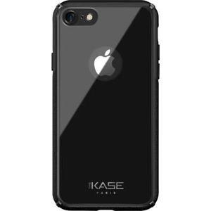 COQUE - BUMPER Coque en verre pour Apple iPhone 7-8, Gris Sidéral