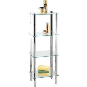 etagere murale chrome achat vente etagere murale. Black Bedroom Furniture Sets. Home Design Ideas