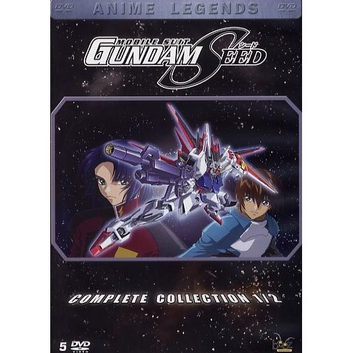 dvd gundam seed partie 1 vostfr vf anime en dvd manga pas cher cdiscount. Black Bedroom Furniture Sets. Home Design Ideas