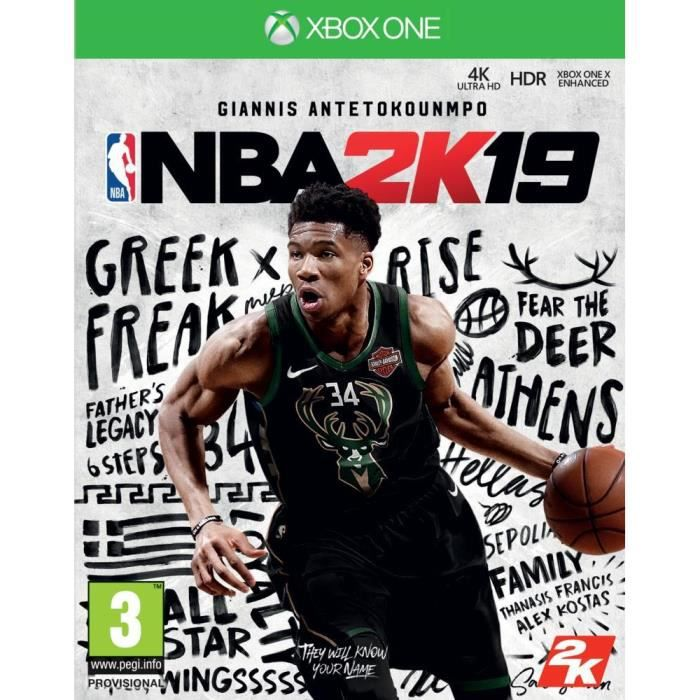 NBA 2K19 Jeu Xbox One
