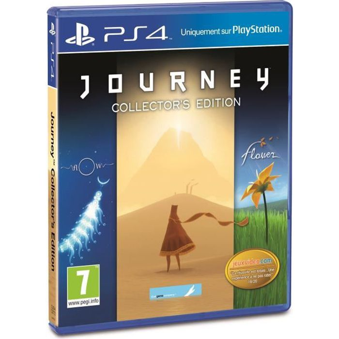Journey Edition Collector Jeu PS4