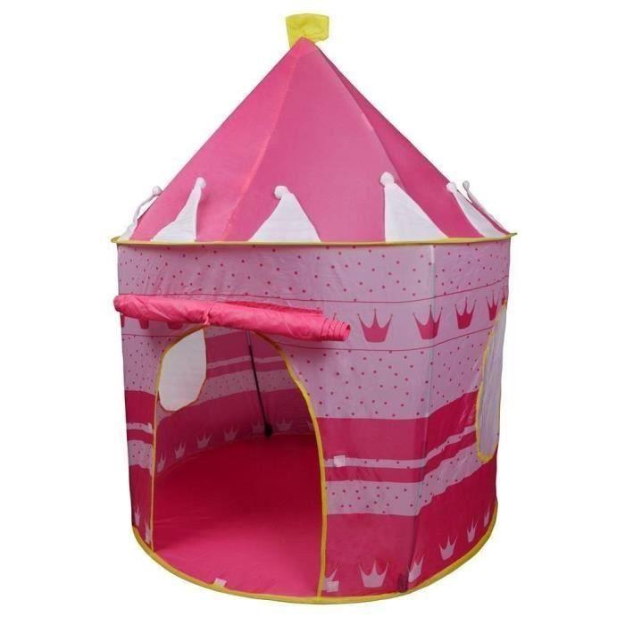 Tente enfant maison Princess Rose