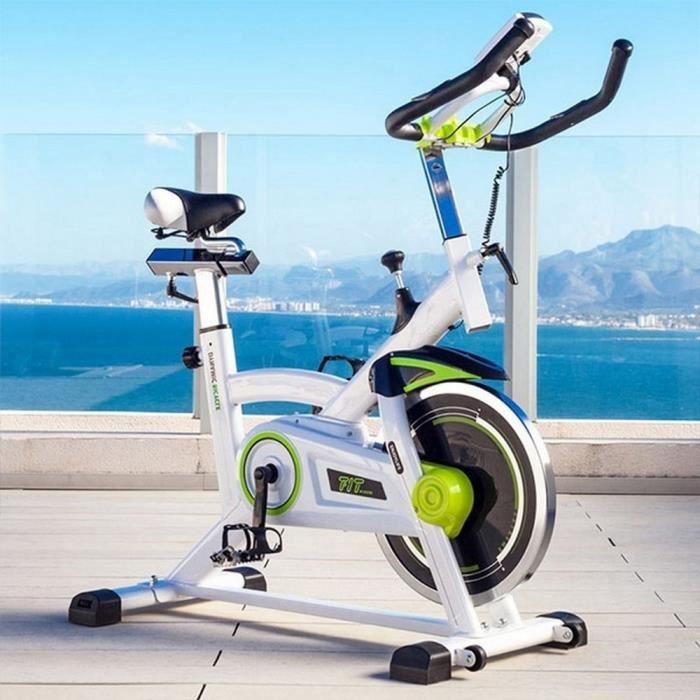 Velo spinning biking Fitness indoor Pro Training white 16kg