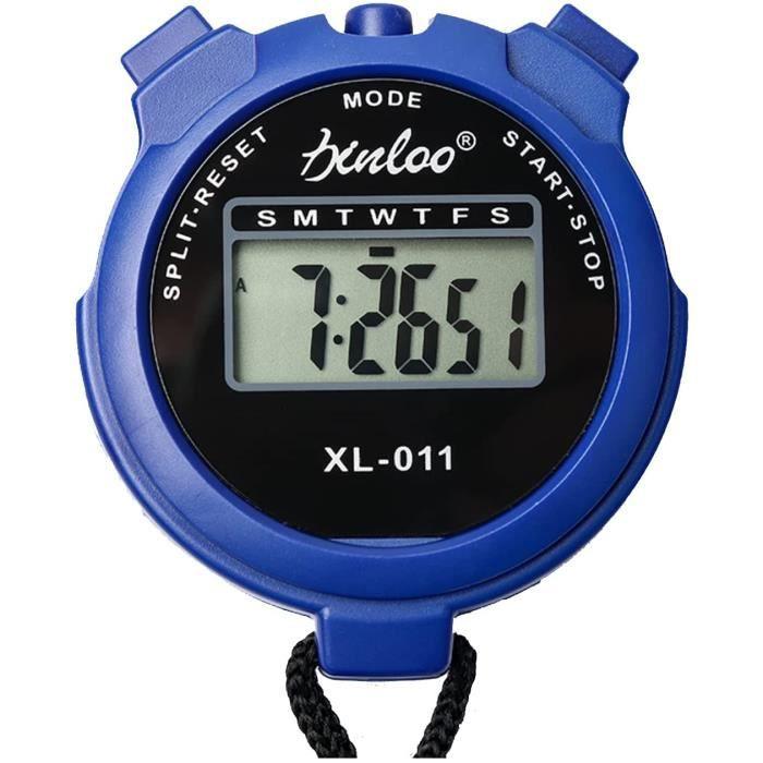 Chronomètre Numérique,Chronomètre,Chronomètre Digital Sports,Minuterie Sportive,chronomètre électronique,adapté au Football,au Bas