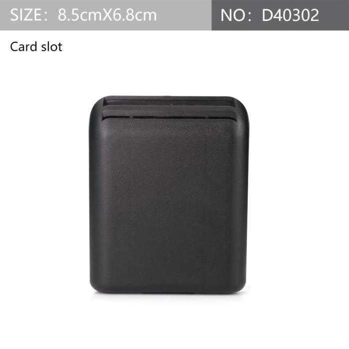 D40302 -Boîte de rangement en plastique pour siège de voiture universel, nouveau Design réservé aux accessoires de poche, organiseur