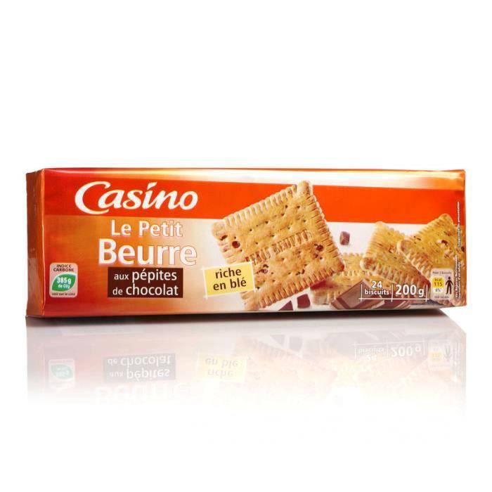 Petits-beurre pépites de chocolat - 200 g