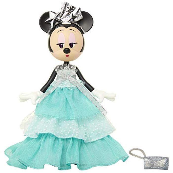 Poupee DISNEY KO77S Ensemble Édition Spéciale Gala Glamour Poupée Minnie Mouse