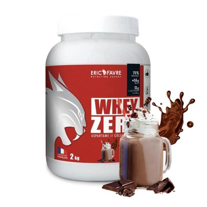 Whey Zero - Eric Favre 2kg Chocolat