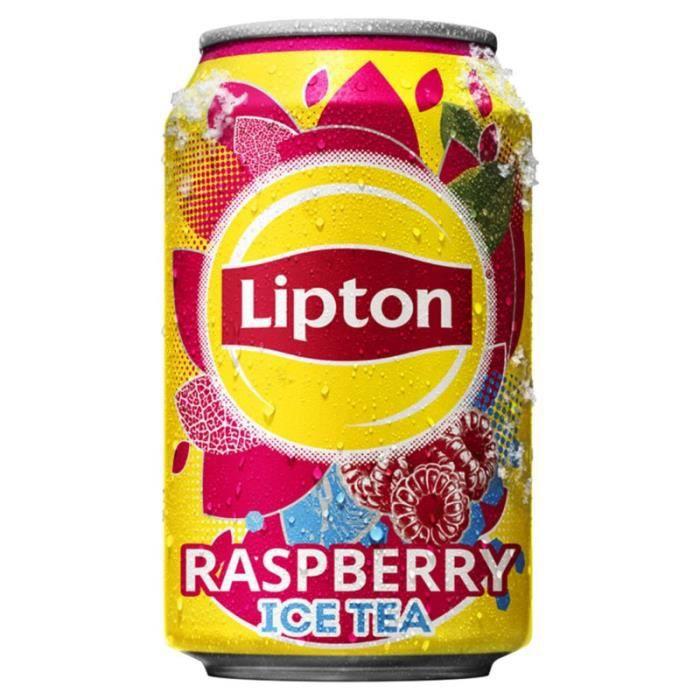 Lipton - Lipton Framboise 33cl (pack de 24)
