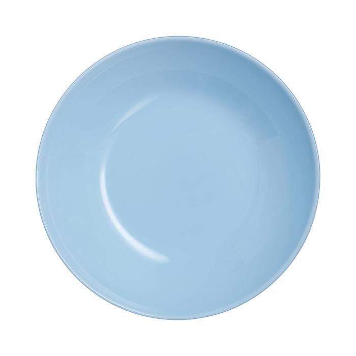 Diwali Assiette Creuse Light Blue D20cm (lot de 6)