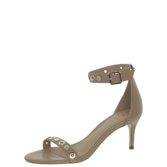 Sandales à talons Guess ref_guess42698 Camel
