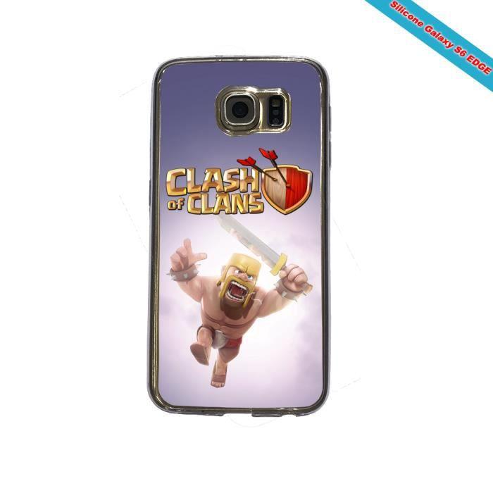 Accessoire Telephone / Coque Telephone - Bumper Telephone / Coque Telephone - Bumper Telephone - Coque Silicone Galaxy S6 EDGE Fan