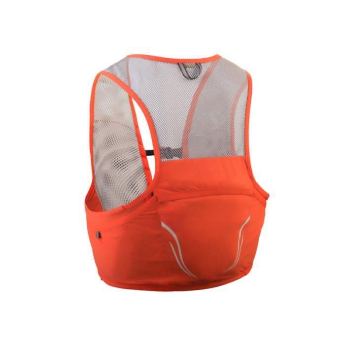 Gilet de sport sac à dos de course à pied léger respirant cyclisme Marathon randonnée Sport 2.5L pour SAC A DOS DE RANDONNEE