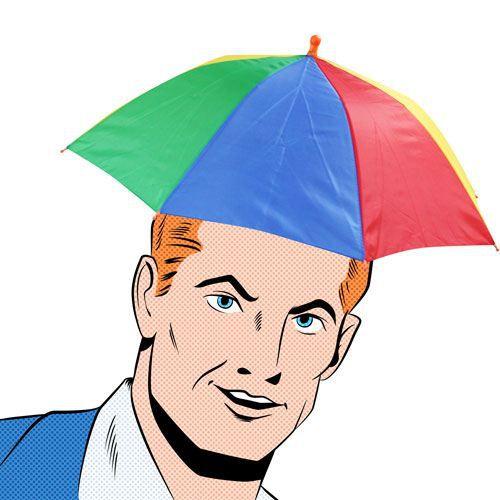 Chapeau parapluie, cadeau fun