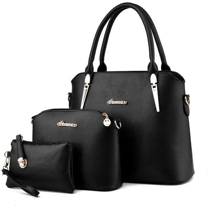 Sac à main femme cuir sacoche sac à bandoulière p