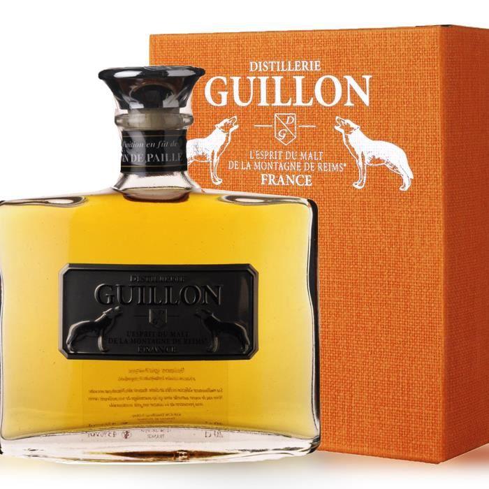 WHISKY BOURBON SCOTCH Guillon finition Vin de paille 20cl - Etui - Whisk
