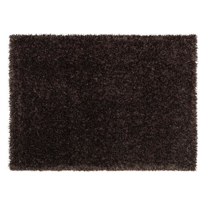 tapis salon feeling marron achat vente tapis cdiscount. Black Bedroom Furniture Sets. Home Design Ideas