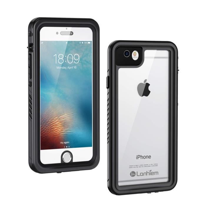lanhiem coque etanche iphone 6s ip68 impermeable