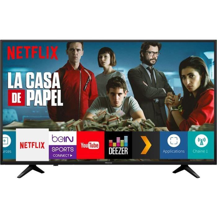 Téléviseur LED HISENSE H50A6050 TV LED 4K UHD -50'' (126cm) - HDR
