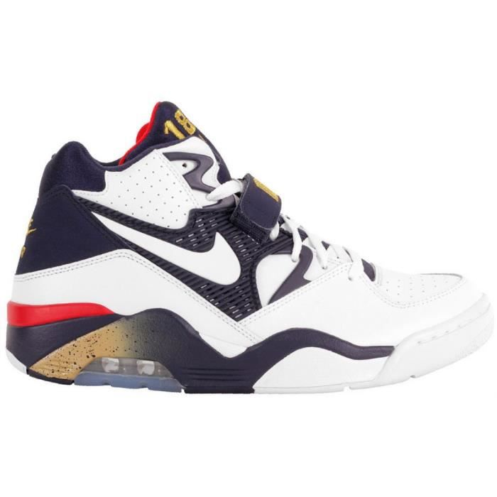 new concept 3d558 8c7b8 Nike Air Force 180 Olympic Charles Barkley Blanc - Achat / Vente ...