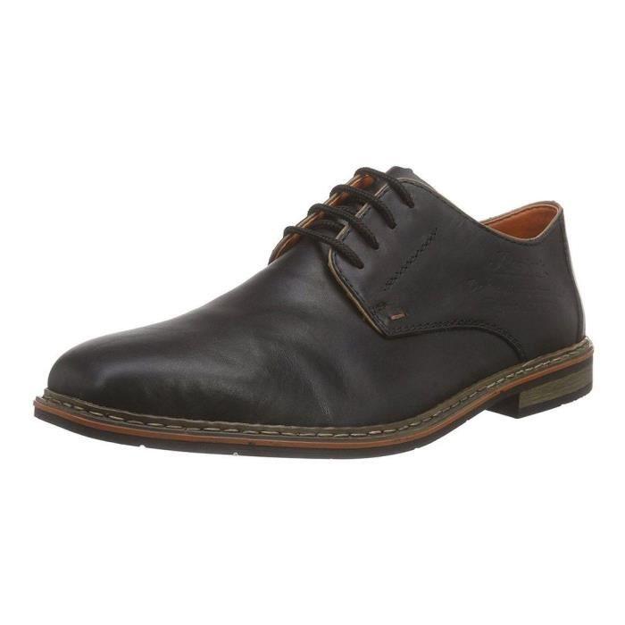 Chaussures a lacets b1720 homme rieker b1720 Noir - Achat / Vente