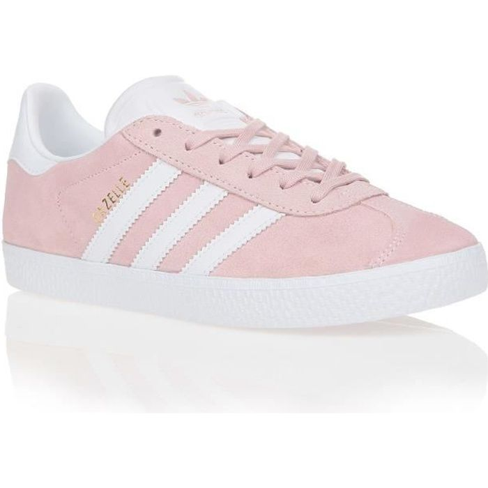 ADIDAS ORIGINALS Baskets GAZELLE ENFANT ROSE BLANC