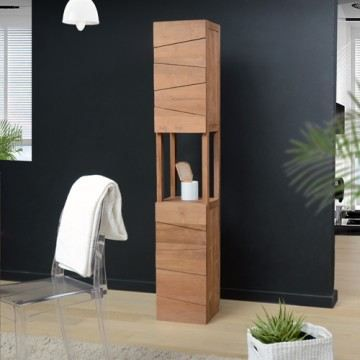 colonne de salle de bain en teck mobilier en bo achat. Black Bedroom Furniture Sets. Home Design Ideas