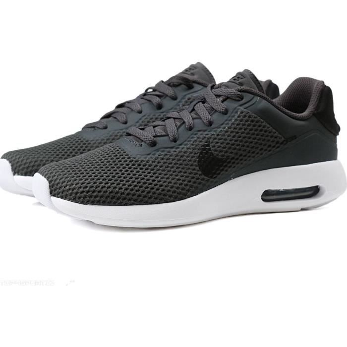 Baskets Nike Air Max Modern Essential Gris Anthracite. 844874-013.