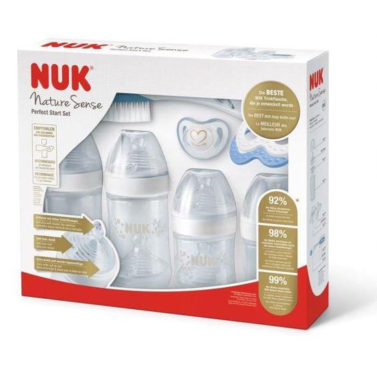 NUK Set 2 T/étines Nature Sense T2 L Lait /Épaissi