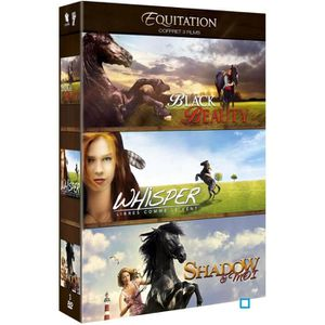 DVD DESSIN ANIMÉ DVD Coffret Equitation : Black Beauty + Whisper -