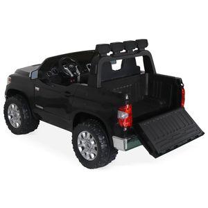 VOITURE ELECTRIQUE ENFANT TOYOTA Tundra 4x4 noir, voiture électrique 12V, 2