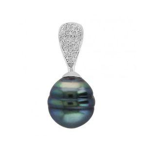 PENDENTIF VENDU SEUL Pendentif Perle de Tahiti Argent