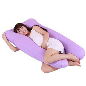 OREILLER oreiller en forme de U pour la femme enceinte mult