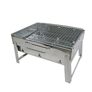 Mountain Warehouse Portable BBQ-Deux Couche Grill /& Pliable JAMBES EN NOIR