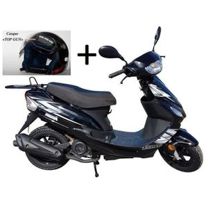 SCOOTER Scooter neuf 50cc 4 temps à injection noir - Norme