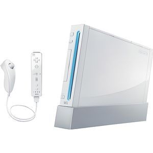 CONSOLE WII CONSOLE WII  BLANCHE SANS JEU