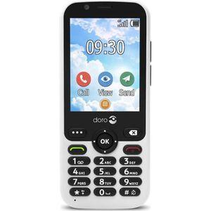 Téléphone portable TÉLÉPHONE MOBILE DORO 7010 BLANC