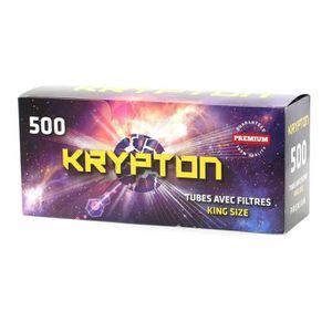 TUBE À CIGARETTE Boites de 500 Tubes King Size - Krypton