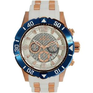 MONTRE Montre Bracelet INVICTA Pro Diver 23710 Blanc Sili