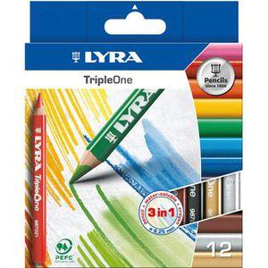 Lyra Super Ferby Crayons-Waldorf-Assortiment Couleurs-Pack de 12