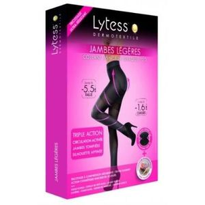 MINCEUR - CELLULITE LYTESS Collants Minceur Opaque  Noir
