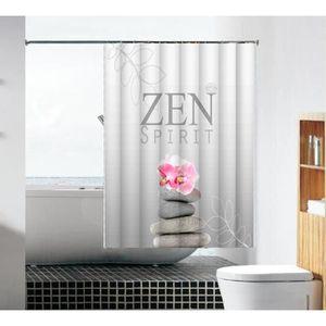 RIDEAU DE DOUCHE Rideau de douche Zen Flower 3d