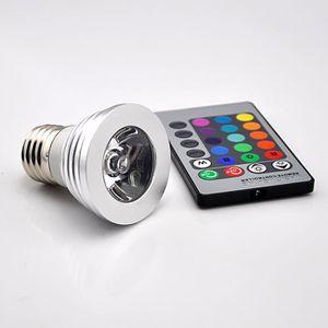 AMPOULE - LED 3W E27 16 ampoule de spot LED de couleur RVB magiq