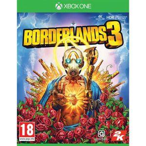 JEU XBOX ONE Borderlands 3 Jeu Xbox One + 1 Skull Sticker Offer
