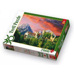 PUZZLE Puzzle 2000 pièces - Château de Hohenschwangau