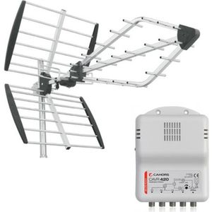 ANTENNE RATEAU TRIAX PACK VIPER Antenne TNT Rateau TV Prémontée +