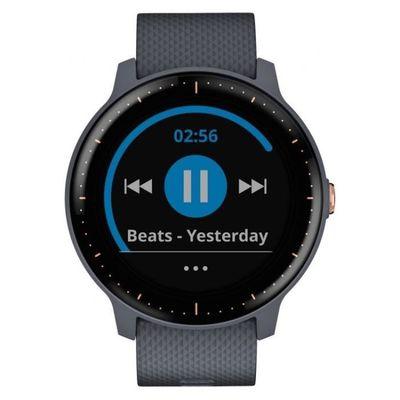 Smartwatch bracelet noir pour Garmin Vivoactive 3