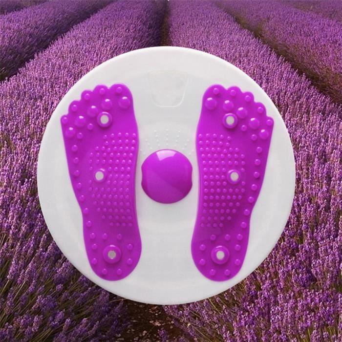 Violet Plaque Twister taille fine Massage de remise en forme d'aimant de plaque sport Fitness machine maison