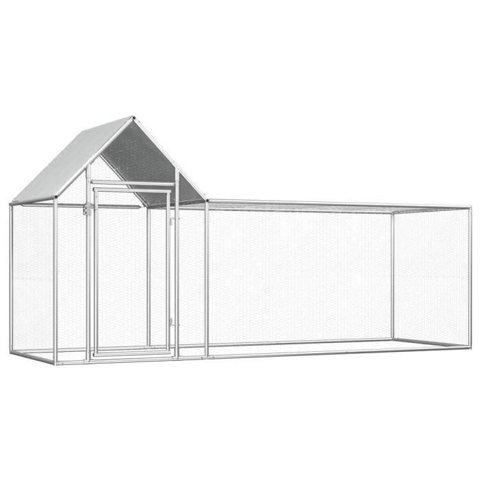 🍓4922Moderne - Poulailler extérieur - Enclos poulailler Contemporain- Parc grillagé Clapier d'extérieur cages pour lapin petits ani