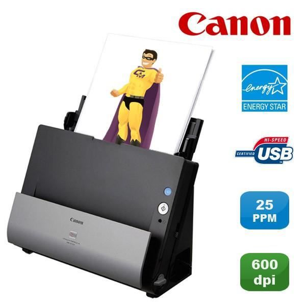 Scanner vertical Canon Imageformula Dr C125 Usb Recto Verso Couleur 25ppm Pc Mac